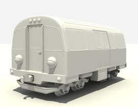 #6 for 3D-model of a quirky locomotive af mekhack