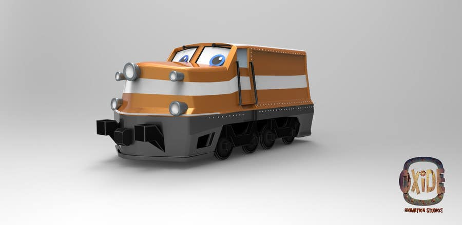 #16 for 3D-model of a quirky locomotive by OxideAnimation