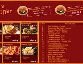 """Farzeel26 tarafından Digital Menu Board TV 43"""""""" için no 2"""