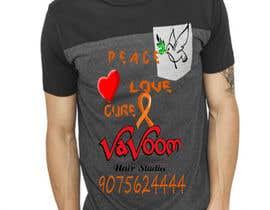 Viperkushal tarafından Design a t-shirt for our hair salon and help fight cancer için no 27