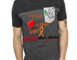 Viperkushal tarafından Design a t-shirt for our hair salon and help fight cancer için no 28