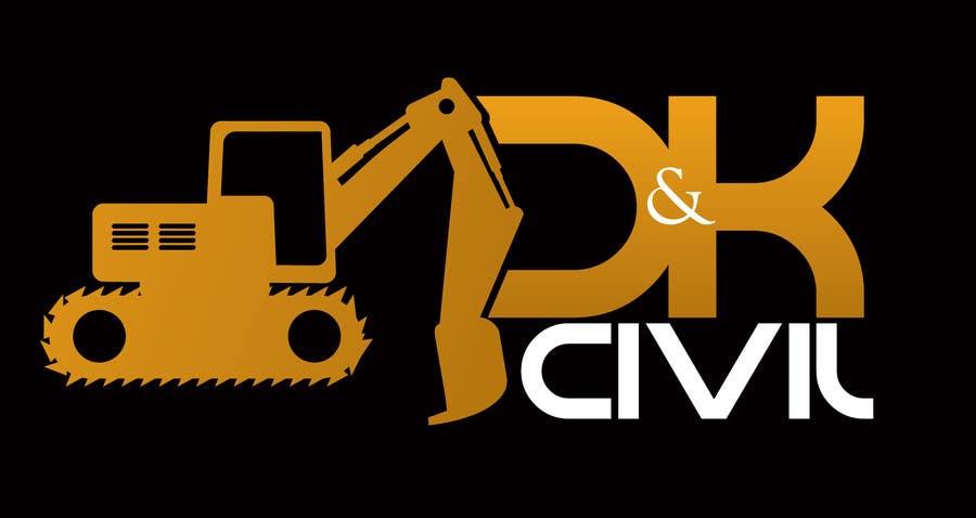 Bài tham dự cuộc thi #                                        48                                      cho                                         Design a Logo for D & K CIVIL
