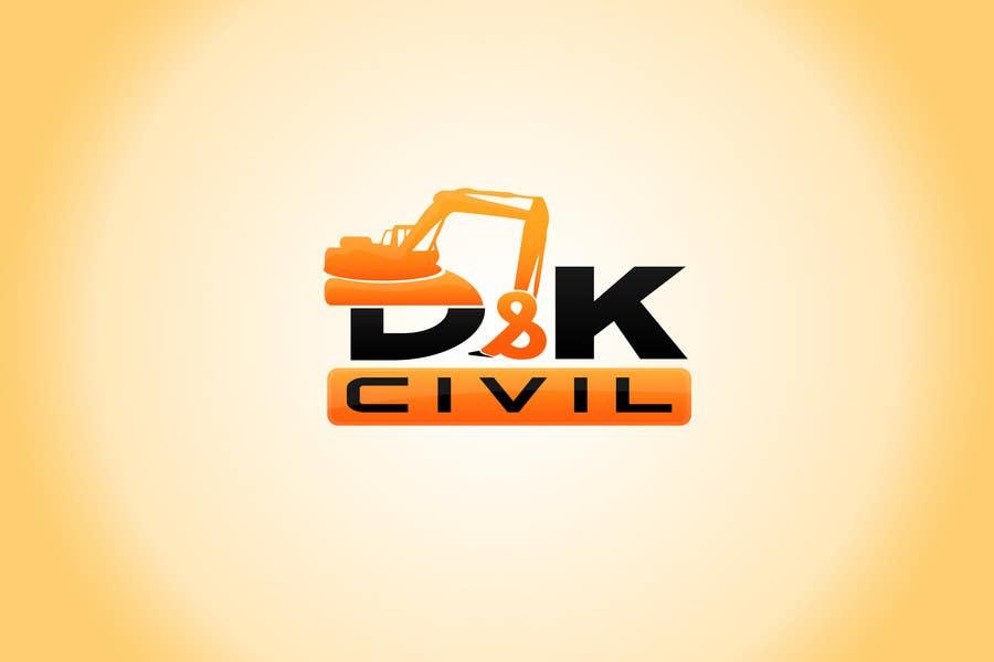 Bài tham dự cuộc thi #                                        27                                      cho                                         Design a Logo for D & K CIVIL