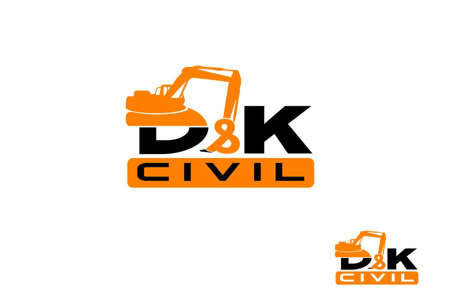 Bài tham dự cuộc thi #                                        29                                      cho                                         Design a Logo for D & K CIVIL
