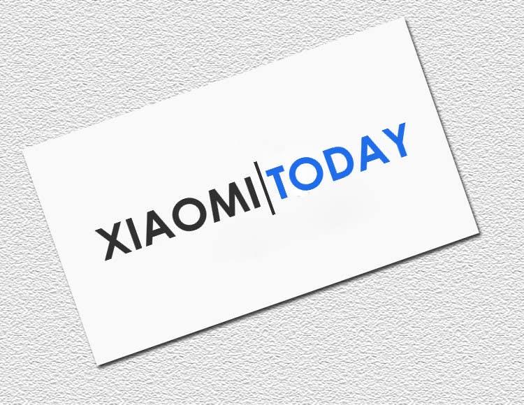 Contest Entry #7 for Make logos for xiaomitoday.com
