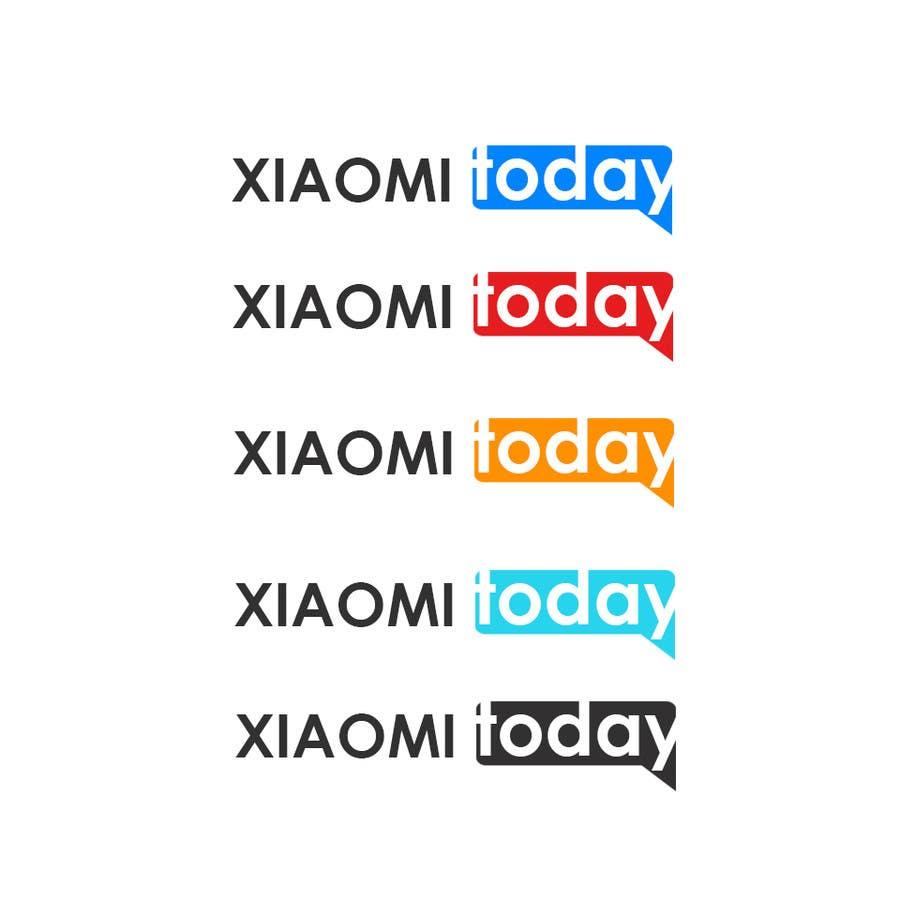 Contest Entry #9 for Make logos for xiaomitoday.com