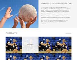phantham tarafından Design website for a netball club için no 13