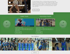 EagleAli tarafından Design website for a netball club için no 12