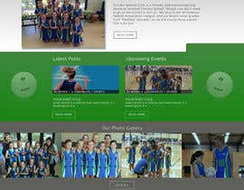EagleAli tarafından Design website for a netball club için no 16