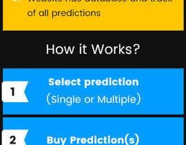 greenarrowinfo tarafından Design Website Mockup for Astro Match Prediction için no 1