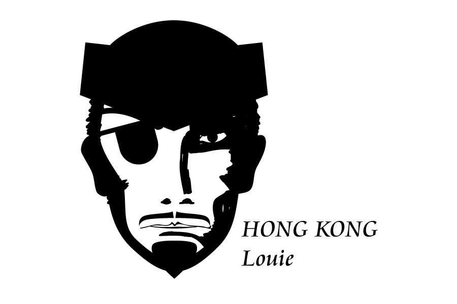 Inscrição nº                                         1                                      do Concurso para                                         Hong Kong Louie