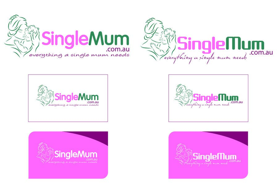 Příspěvek č. 359 do soutěže Logo Design for SingleMum.com.au