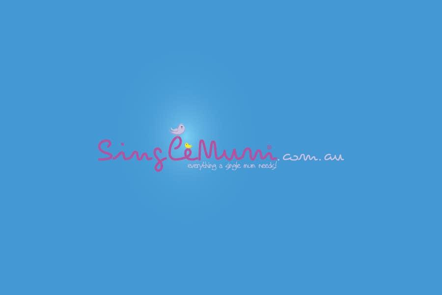 Logo Design for SingleMum.com.au için 99 numaralı Yarışma Girdisi