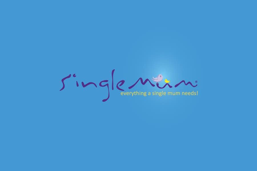 Logo Design for SingleMum.com.au için 97 numaralı Yarışma Girdisi