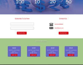 rajbevin tarafından Design a Website Mockup için no 5