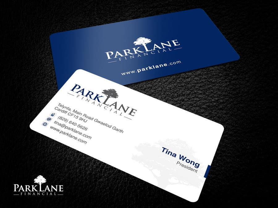 #14 for Business Card Design for Park Lane Financial by Brandwar