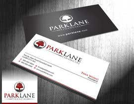 #31 untuk Business Card Design for Park Lane Financial oleh Brandwar