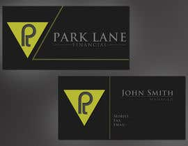#16 untuk Business Card Design for Park Lane Financial oleh h4hardip