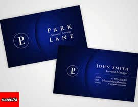 #15 untuk Business Card Design for Park Lane Financial oleh madotta