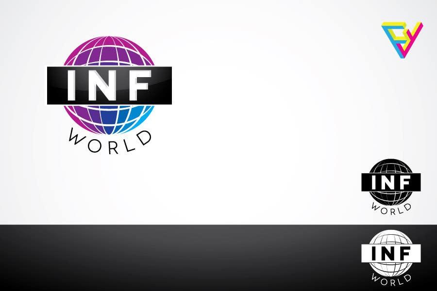 Inscrição nº                                         2                                      do Concurso para                                         Logo Design for INF World Company