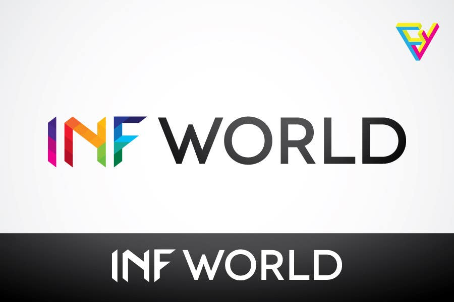 Inscrição nº                                         3                                      do Concurso para                                         Logo Design for INF World Company