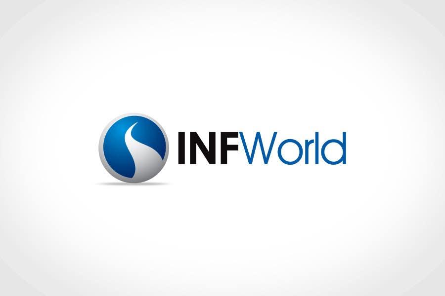 Inscrição nº                                         28                                      do Concurso para                                         Logo Design for INF World Company