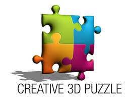 donmute tarafından Logo Design for: creative 3D puzzle by NiXiM için no 51