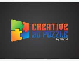 engleeINTER tarafından Logo Design for: creative 3D puzzle by NiXiM için no 44
