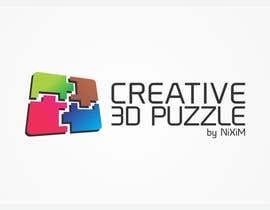 engleeINTER tarafından Logo Design for: creative 3D puzzle by NiXiM için no 47