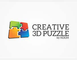 engleeINTER tarafından Logo Design for: creative 3D puzzle by NiXiM için no 53