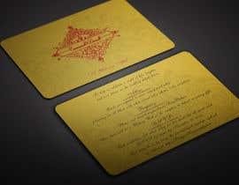 BikashBapon tarafından Golden ticket wedding invitation için no 13