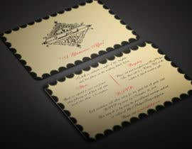 BikashBapon tarafından Golden ticket wedding invitation için no 16
