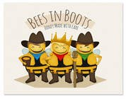 Graphic Design Contest Entry #129 for Bees in Boots Logo Design