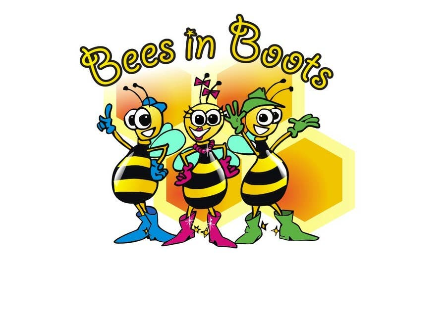 Конкурсная заявка №84 для Bees in Boots Logo Design