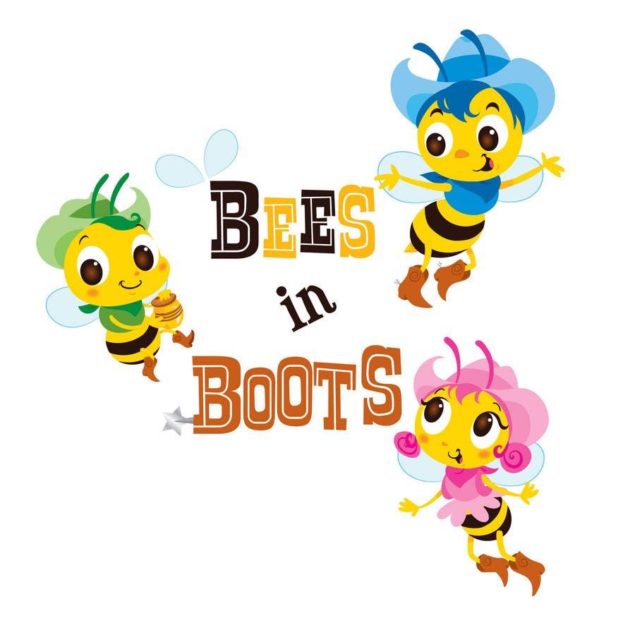 Inscrição nº                                         143                                      do Concurso para                                         Bees in Boots Logo Design