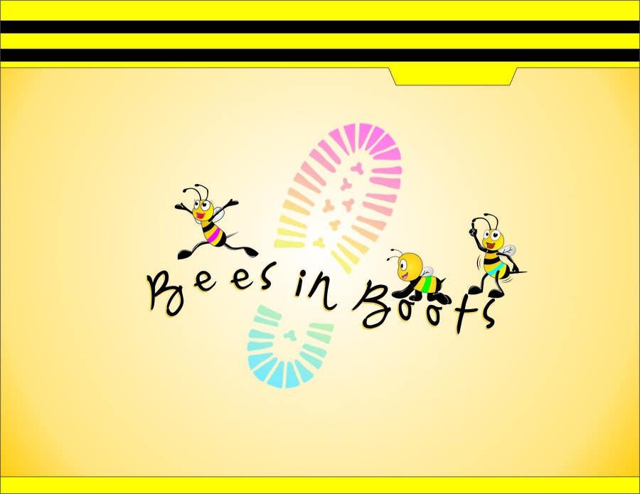 Inscrição nº                                         15                                      do Concurso para                                         Bees in Boots Logo Design
