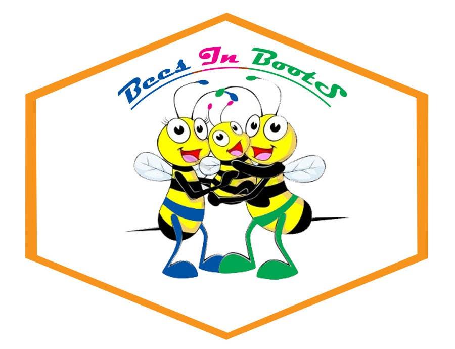 Inscrição nº                                         30                                      do Concurso para                                         Bees in Boots Logo Design