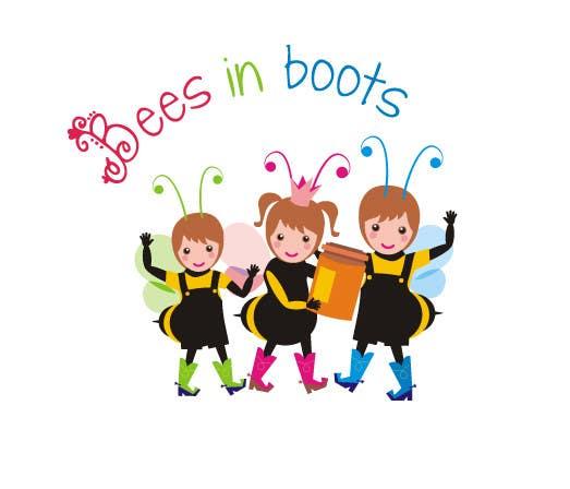 Inscrição nº                                         72                                      do Concurso para                                         Bees in Boots Logo Design