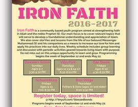 saikat9999 tarafından Flyer Iron Faith 2016-2017 için no 27