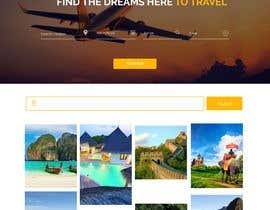 fruslanz tarafından Design a Travel Agency Website Mockup için no 19