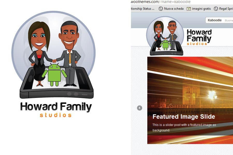 Logo Design for Howard Family Studios
