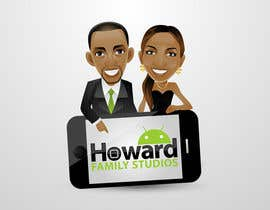 nº 274 pour Logo Design for Howard Family Studios par taks0not