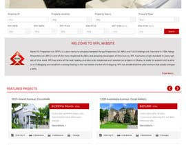 #13 for Design a Website Mockup for realestate site by GemIT