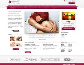 #44 for Design a Website Mockup for beauty site by online3