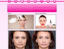 #4 for Design a Website Mockup for beauty spa site by webidea12