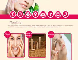 #10 for Design a Website Mockup for beauty spa site by rashidaliansari