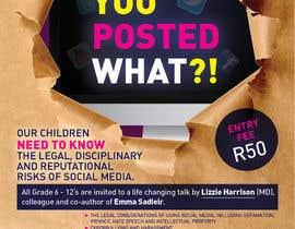 VisualandPrint tarafından POSTER TO PROMOTE A SAFE SOCIAL MEDIA TALK AT A SCHOOL için no 7
