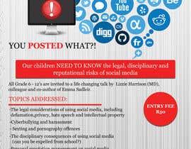 Moumita13Ghosh tarafından POSTER TO PROMOTE A SAFE SOCIAL MEDIA TALK AT A SCHOOL için no 23