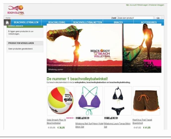 Inscrição nº 239 do Concurso para Logo Design for Beachvolleybalwinkel.nl