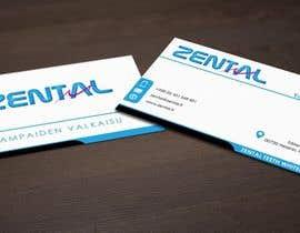 #23 for Suunnittele käyntikortteja for Zental beauty company by pointlesspixels